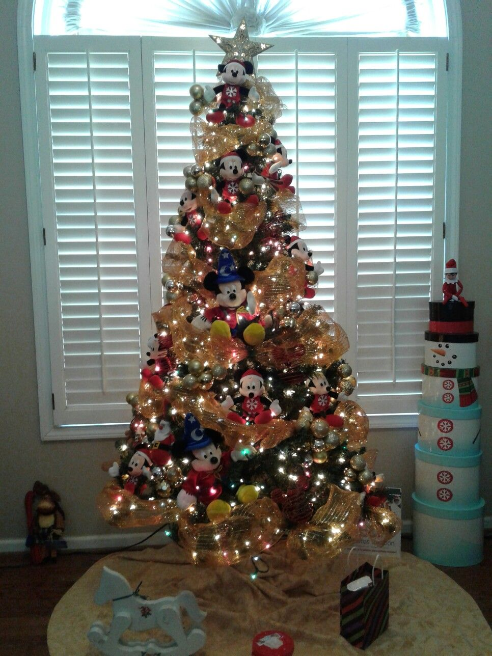 mickey mouse christmas tree decoration - Christmas Tree Decorations Mickey Mouse