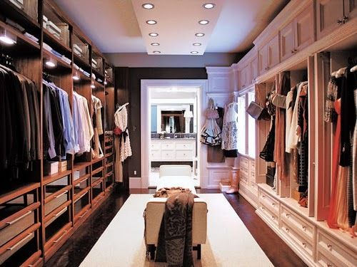 His and Hers Walk in Closet from Sex and the City 2.
