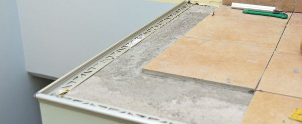 How To Install Tile Edging Tile Installation How To Install