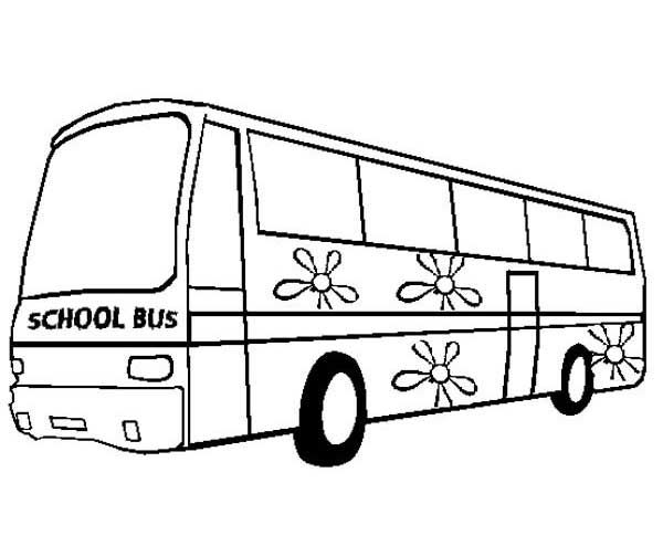 School Bus Coloring Page Free Szinezok Coloring Pages Free