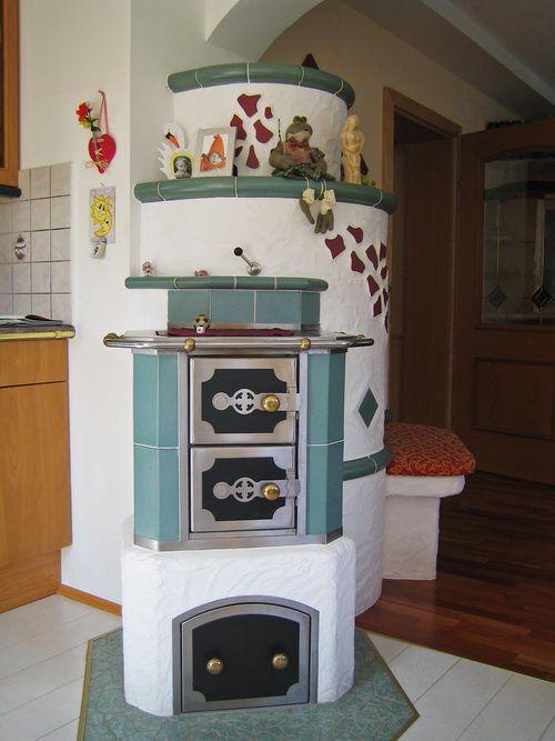 Fliesen Kachelöfen Küchenherde - Fliesen Bader in Bad Gastein - küchenherd mit wasserschiff