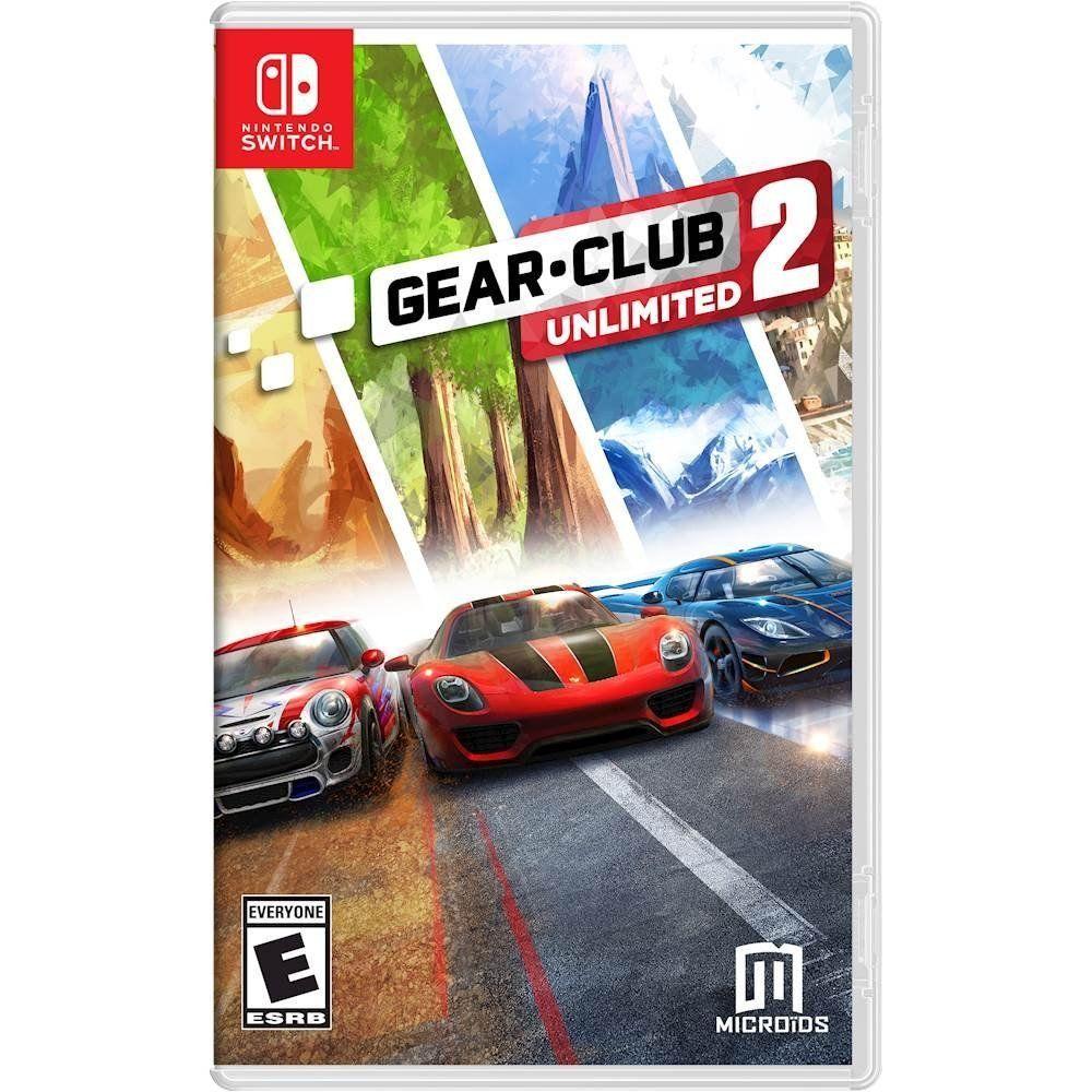 PRESALE Gear Club Unlimited 2 Nintendo Switch Brand New