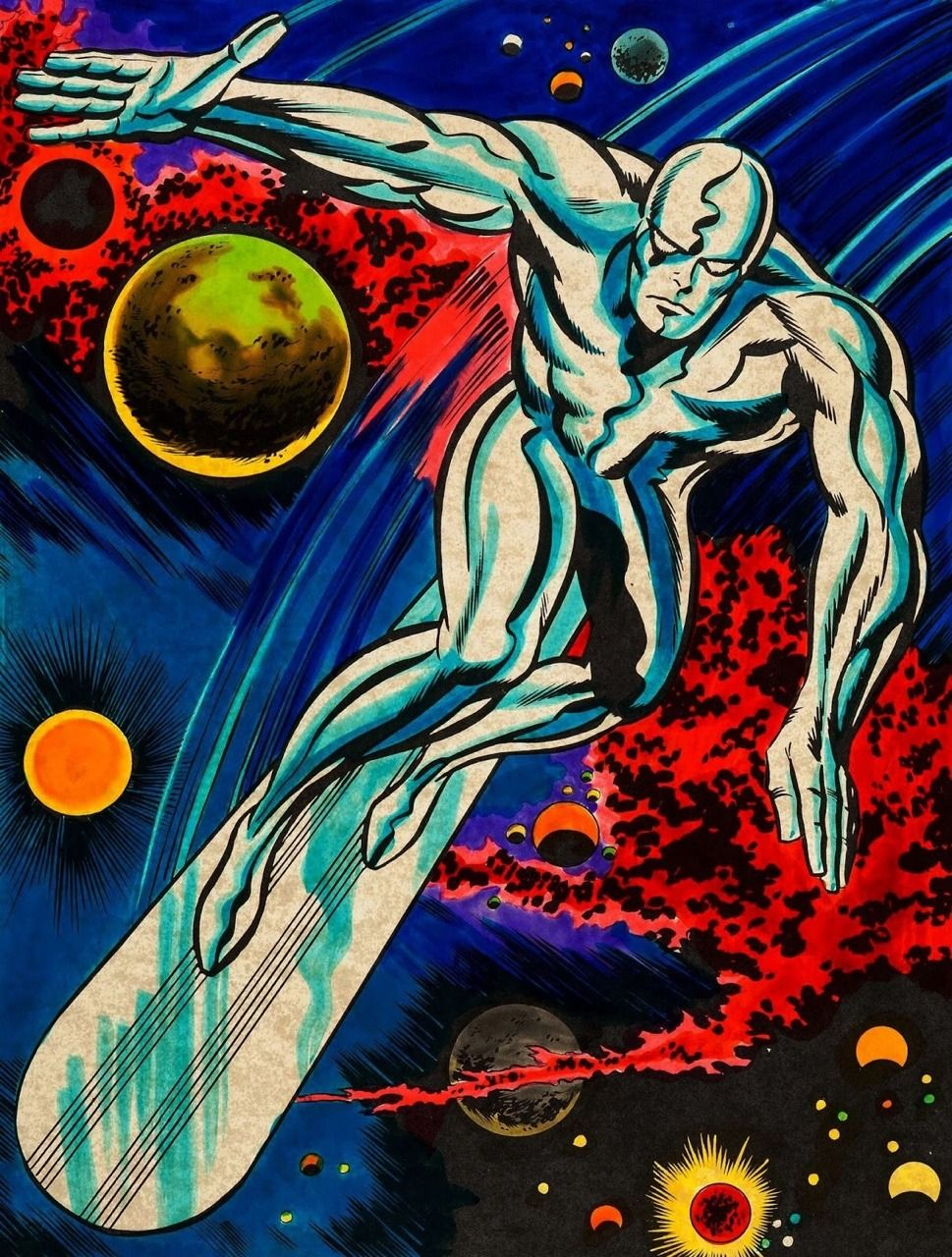The Silver Surfer, by Jack Kirby