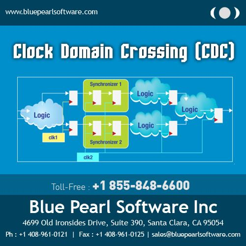 Blue Pearl #Software offers #courses for Clock Domain Crossing (CDC) problems.