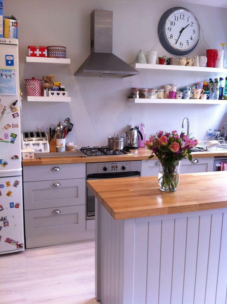 Grey Kitchen Units What Colour Walls Google Search Kitchen
