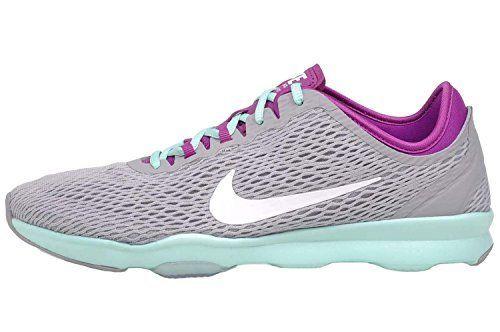 6ceeb44580833 Nike Womens Wmns Zoom Fit WOLF GREYWHITEFUCHSIA FLASHARTISAN 75 M US      Details can. Zapatos De Entrenamiento ...