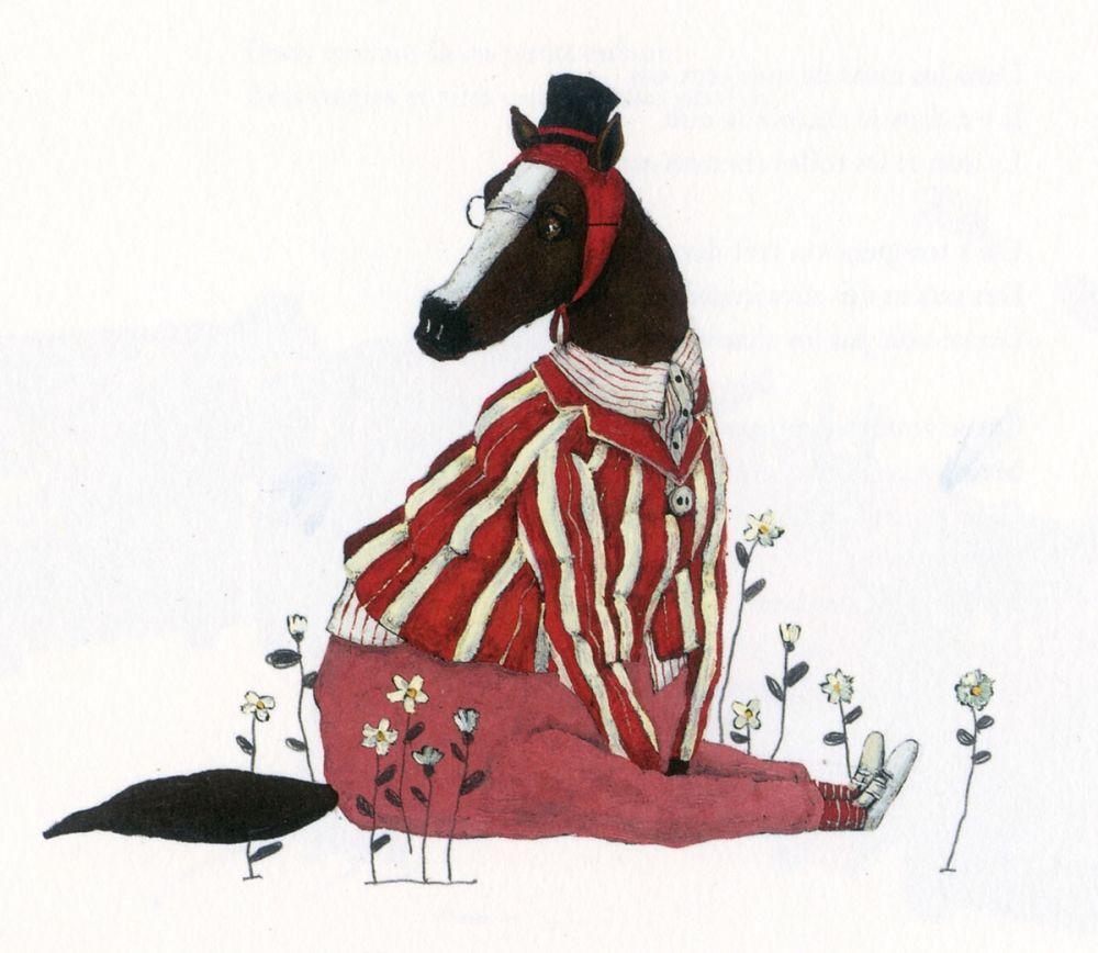 Carll Cneut : tout bêtement, La joie de lire, 2012