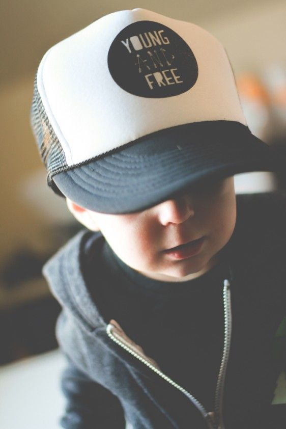 Young and Free Trucker Hat - Slyfox Threads  72afad0e1076