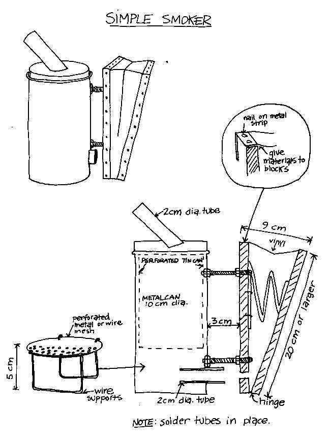 Small Scale Beekeeping  Equipment Plans