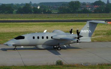 piaggio p180 avanti ii vs aerospace mpa - airplanes comparison
