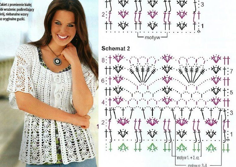Todo para Crear ... : blusas en crochet | Crochet | Pinterest ...