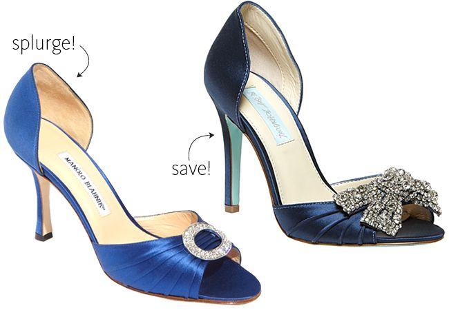 Splurge vs save for your something blue!