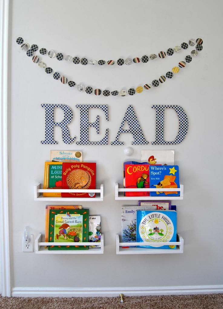 Child S Reading Nook With Ikea Shelves Diy Home Decor
