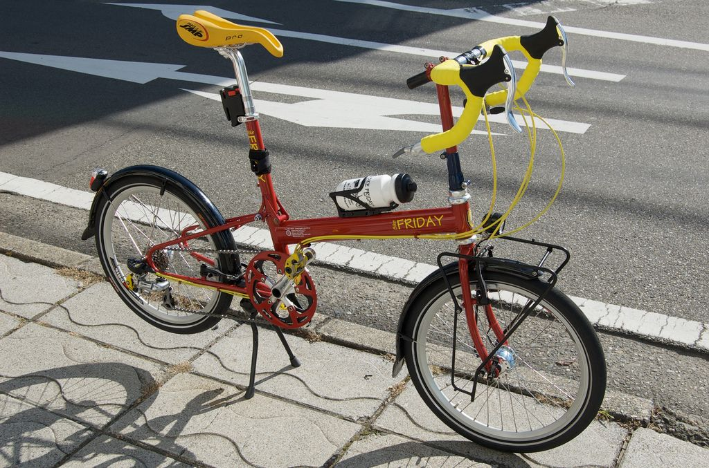 Bike Friday New World Tourist Bike Friday Urban Bicycle Bike