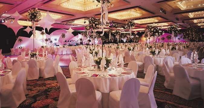 The spacious Coral Ballroom at #Hilton Hawaiian Village Waikiki Beach Resort in Honolulu, Hawaii, is the perfect setting for any celebration.