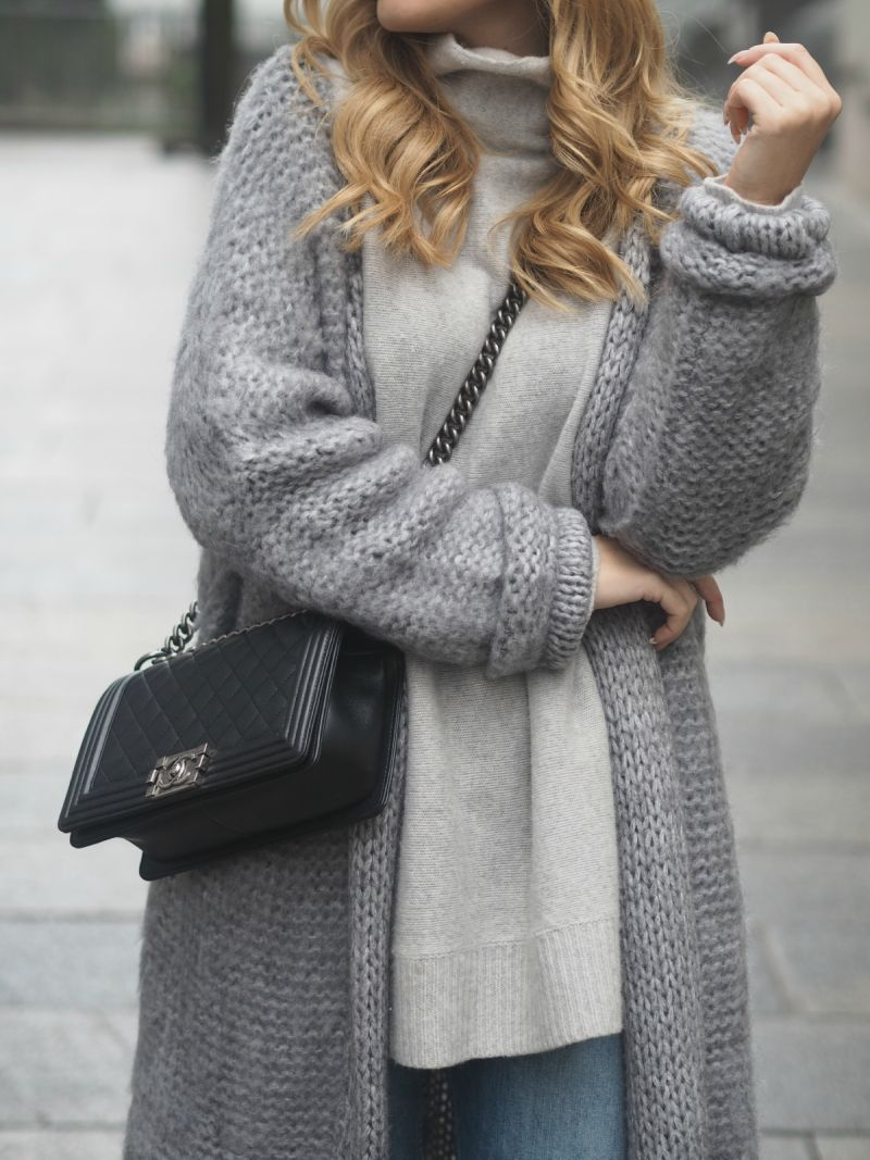 Long Cardigan Outfits... An Autumn Fashion Trend | Long grey ...