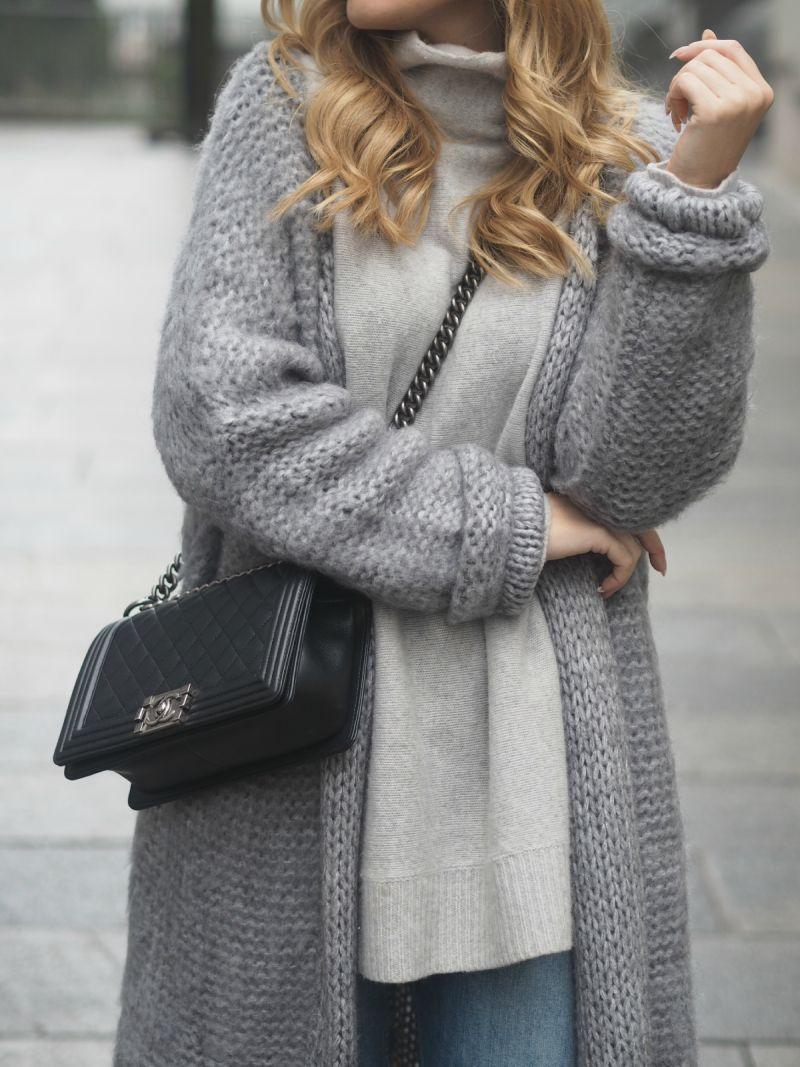 Long Cardigan Outfits... An Autumn Fashion Trend | Long grey ...