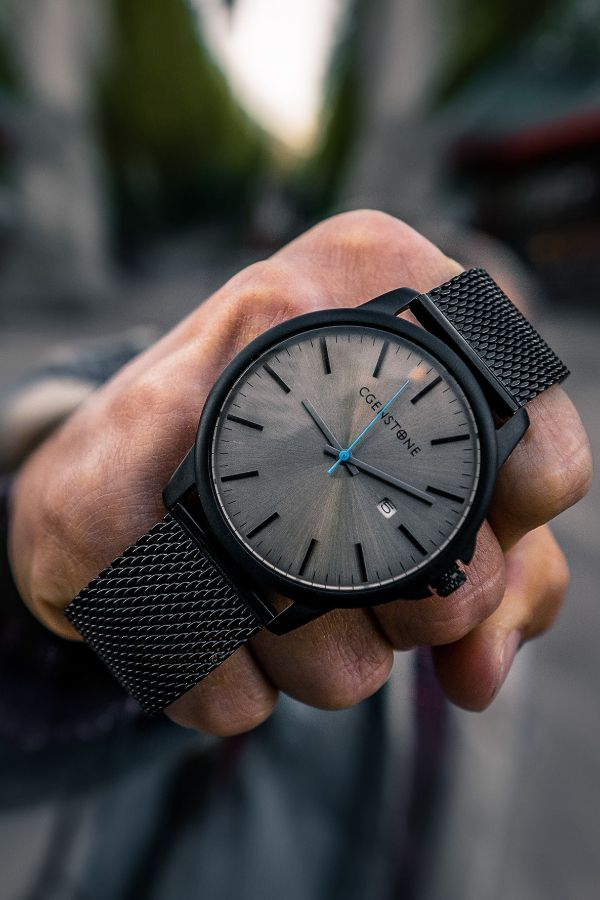 Iconic gray   42 mm is part of Mens watches affordable - Looking for a Iconic watch  Live life on your time with a watch that suites your dynamic lifestyle from work to play to adventures afar  Affordable watches for men  SPECIFICATION Case Size 42 mm  Case Thickness 10 5mm  Movement  Japanese movement with date  Dial Gray color Glass Hardened Mineral crystal  Srap width 22mm