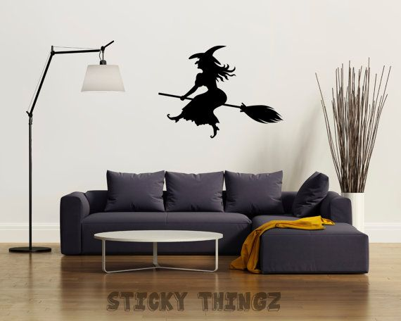 Witch Decal Etsy Listing At Httpswwwetsycomlisting - Sticker custom vinyl decals for carcustom vinyl decals and stickers by stickythingz on etsy