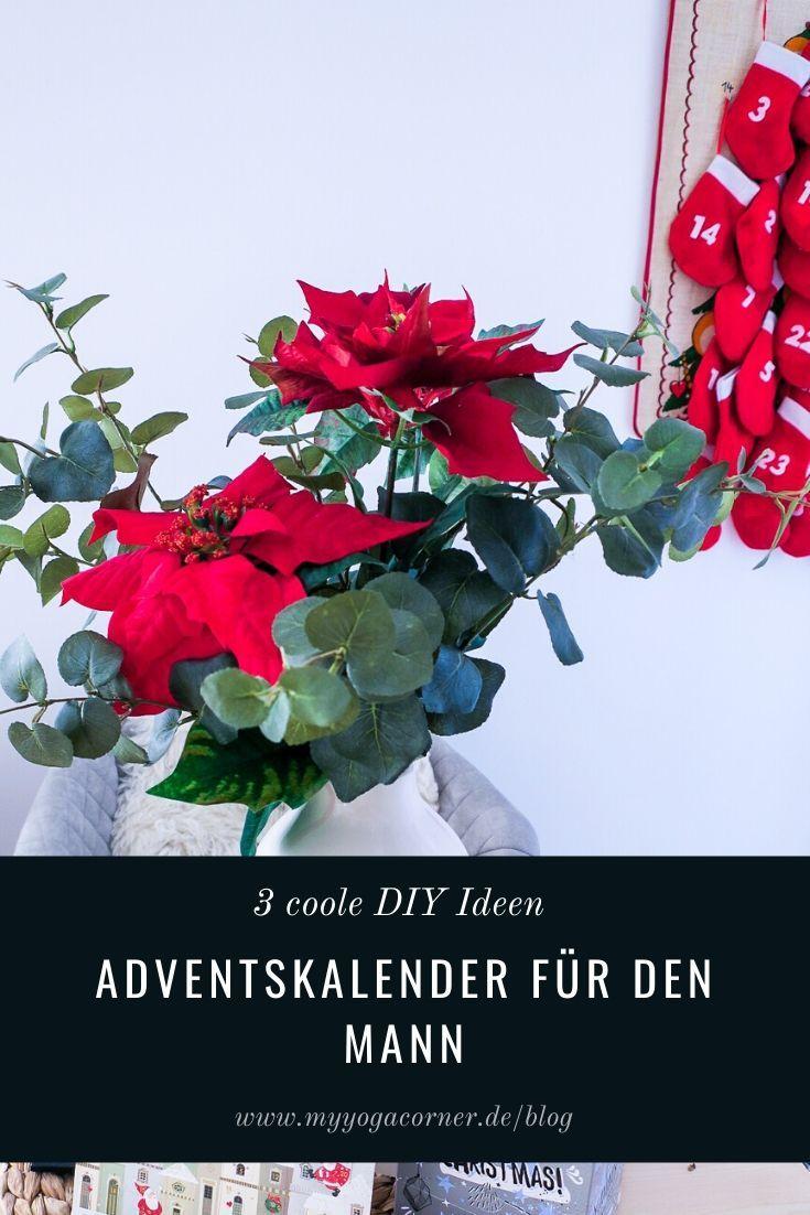 3 coole DIY Ideen für den Adventskalender für den Mann