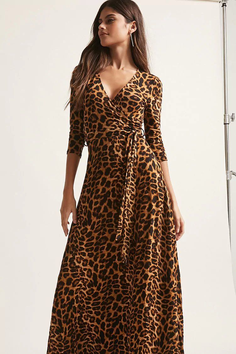 f7303d6246fe Product Name:Leopard Print Maxi Dress, Category:dress, Price:38 ...