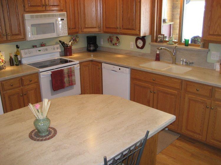 Corian Tumbleweed Corian Kitchen Countertops