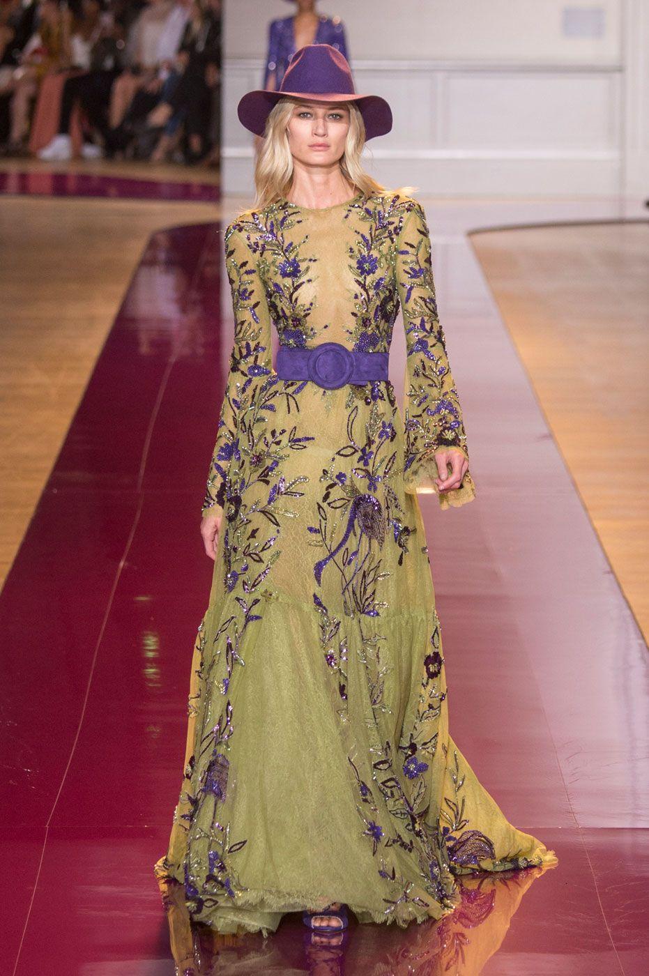 Zuhair Murad injeta romantismo na alta-costura - Vogue | Desfiles