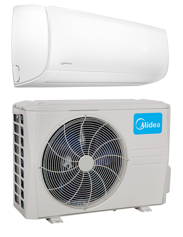 Midea 12000 Btu In Minisplitwarehouse Com Find The Best Air Conditioner For Your Space Midea 12000 Btu 20 Heat Pump System Heat Pump Central Air Conditioners