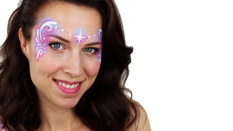 Easy fairy face painting tutorial snazaroo facepainting for Fairy painting easy