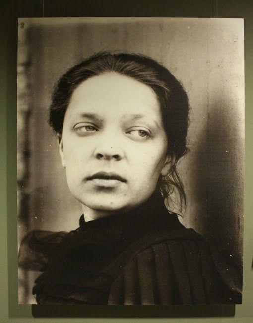 Ellen Thesleff, Finnish artist, 1890.