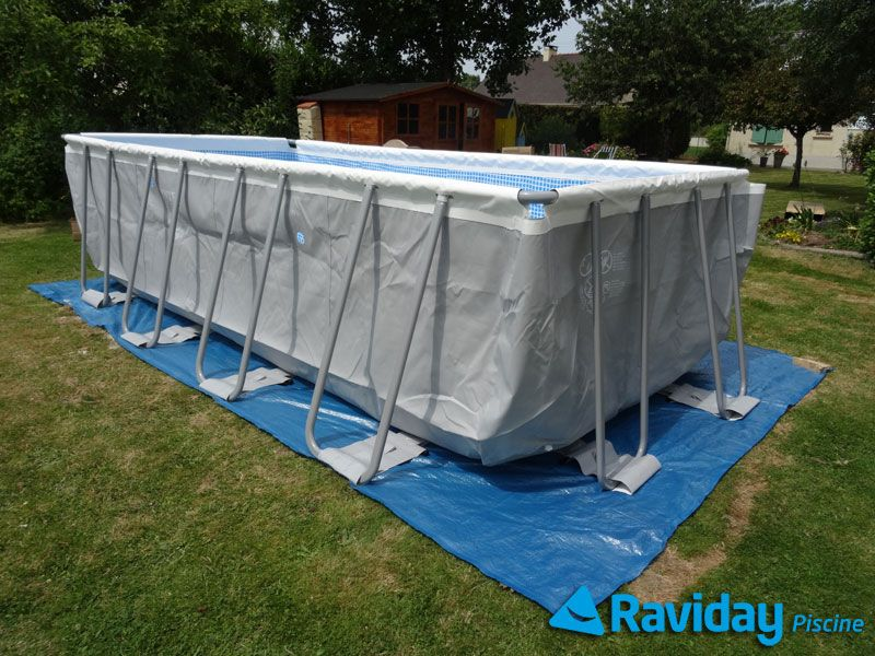raviday vous pr sente ses conseils pour installer une piscine hors sol tubulaire ou autoport e. Black Bedroom Furniture Sets. Home Design Ideas
