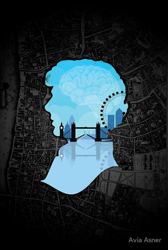Sherlocks London T-Shirt by Avia Asner