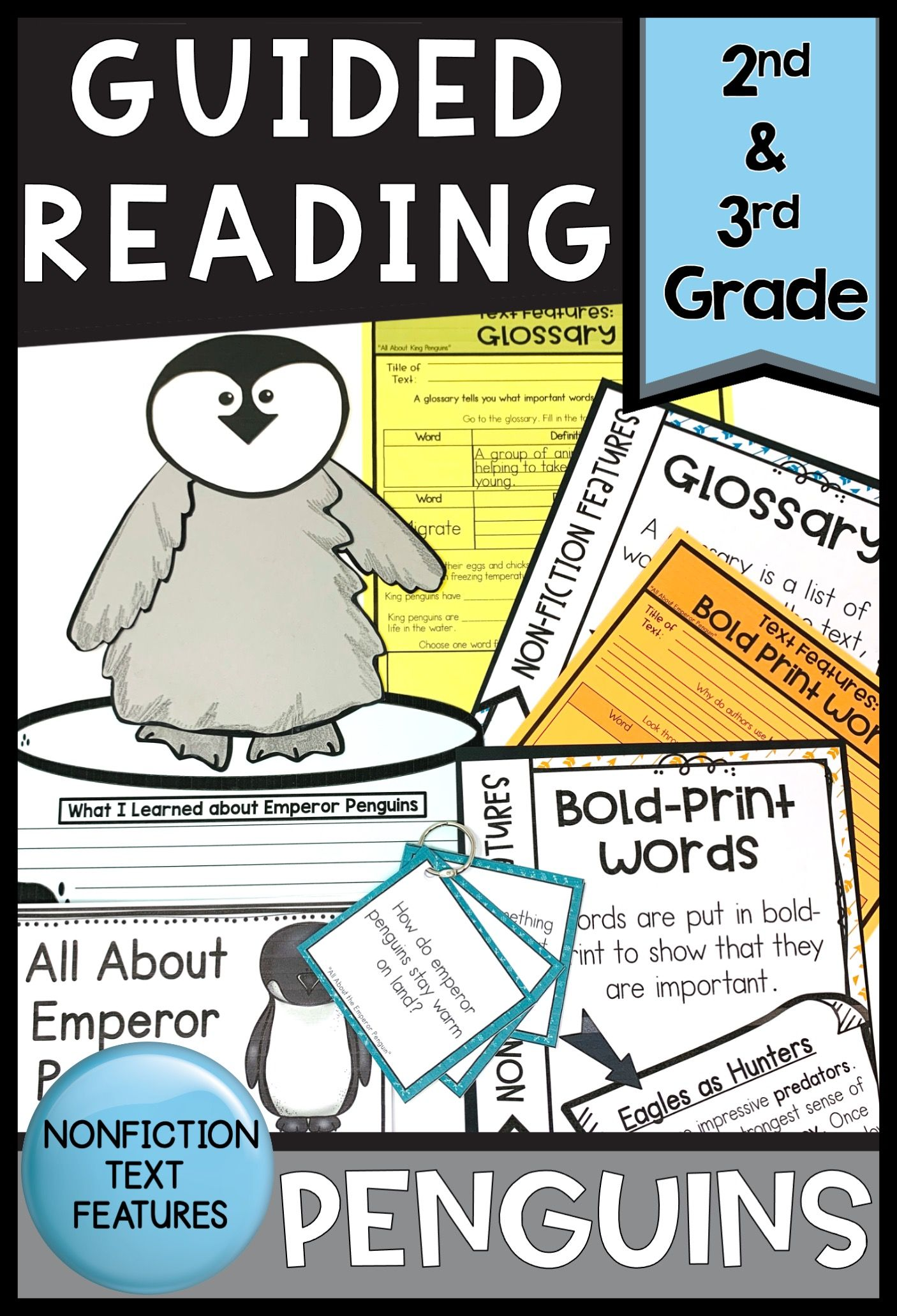 Emperor Penguin Activities Guided Reading Nonfiction