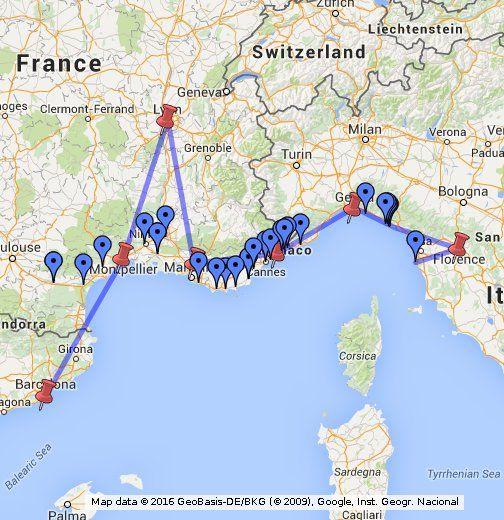 Viagem Mediterraneo Agosto 2013