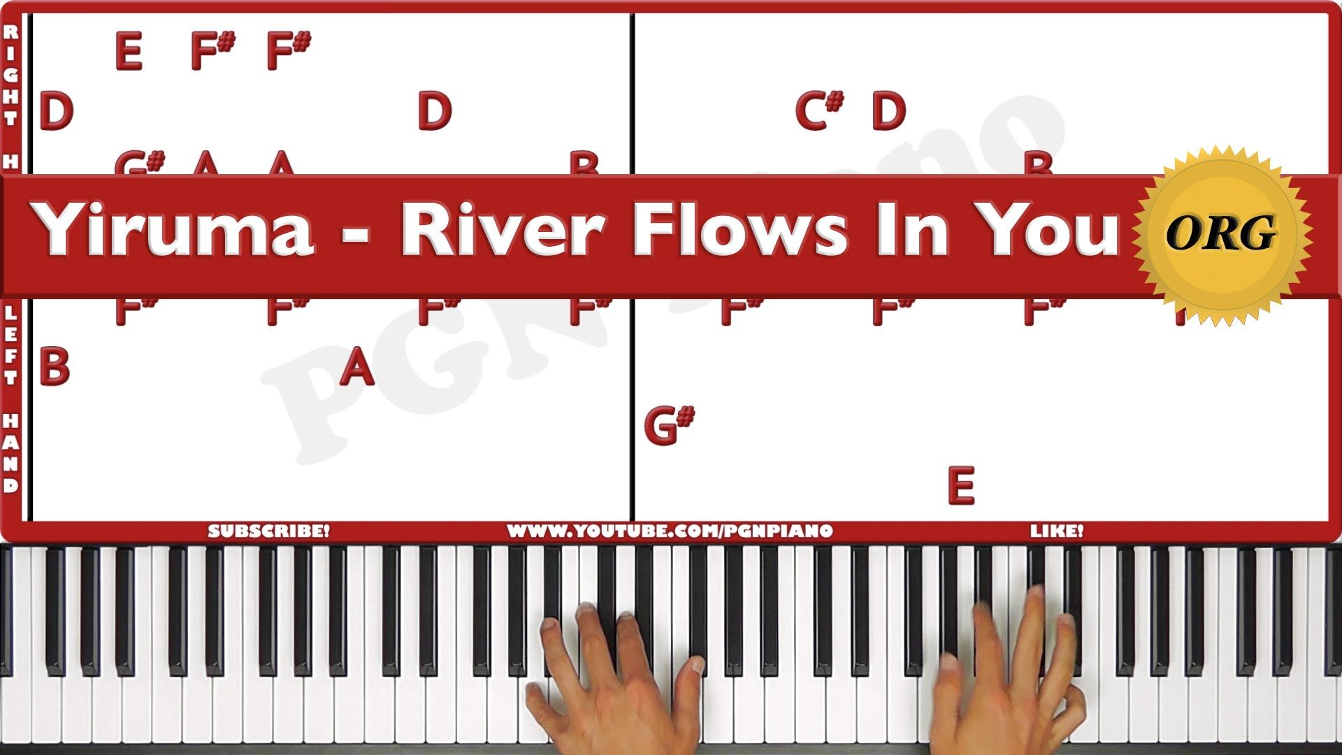How to play yiruma river flows in you piano tutorial original how to play yiruma river flows in you piano tutorial original hexwebz Images