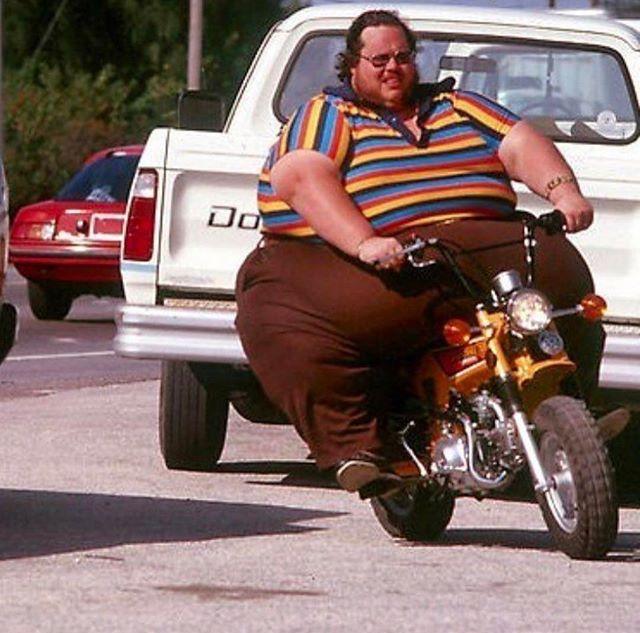 Big Guy Mini Bike Piadas Com Fotos Emoticons Engracados