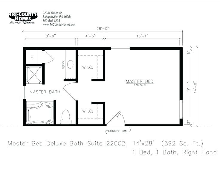 Best Image Result For Master Bedroom Additions Floor Plans With 400 x 300