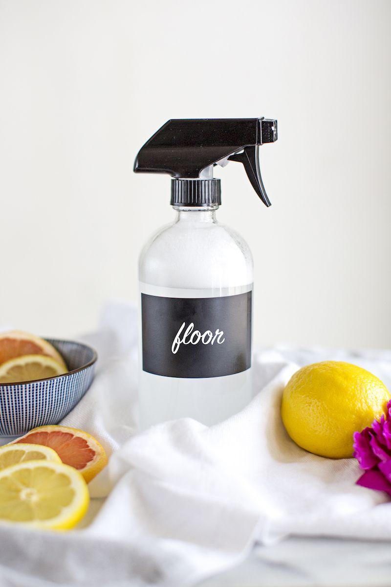 DIY Natural Homemade Floor Cleaner Recipe Floor