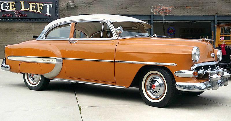 1954 Chevrolet Bel Air Convertible Restored Beauty Chevrolet