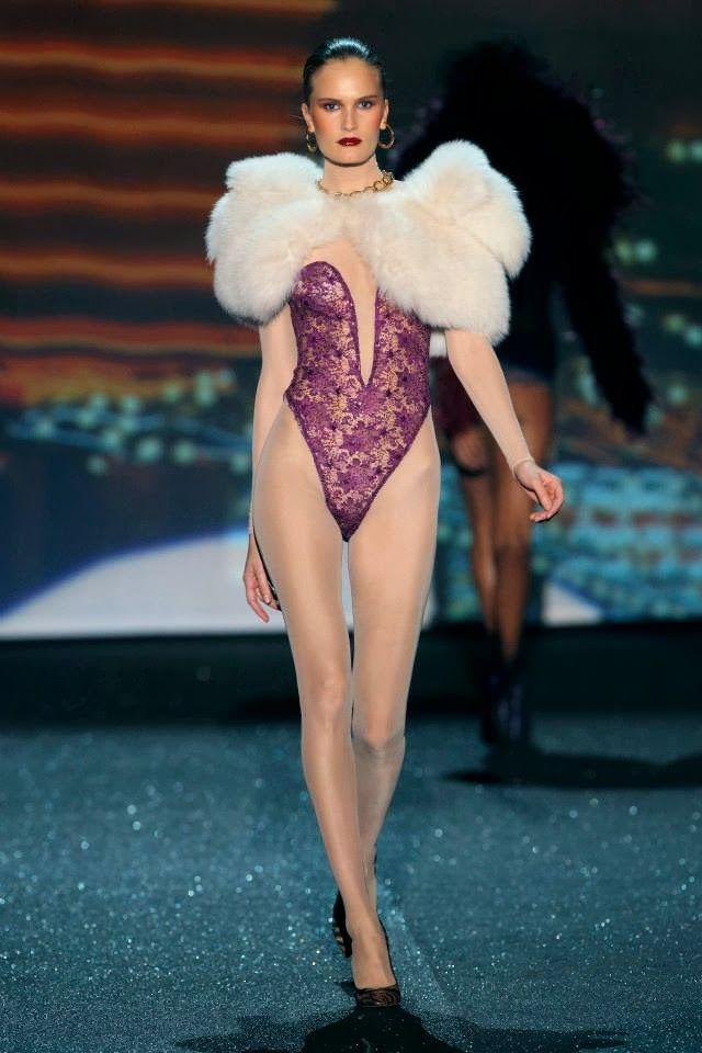 Designer lingerie showcase