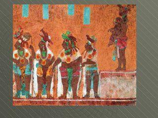 Pinturas Murales Mayas San Bartolo Y Bonampak Maya Mayan History