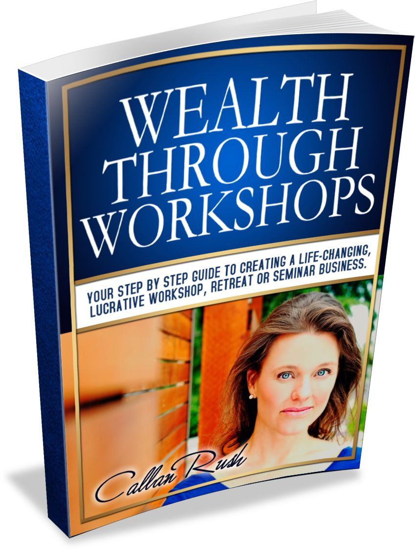 Free Book for Coaches - Wealth Through Workshops | Coach & Grow R.I.C.H.