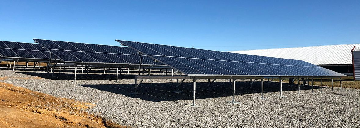 Solar Power Keeps Costs Down At Poultry Farm In 2020 Solar Solar Power Poultry Farm
