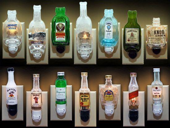 Liquor Bottle Crafts