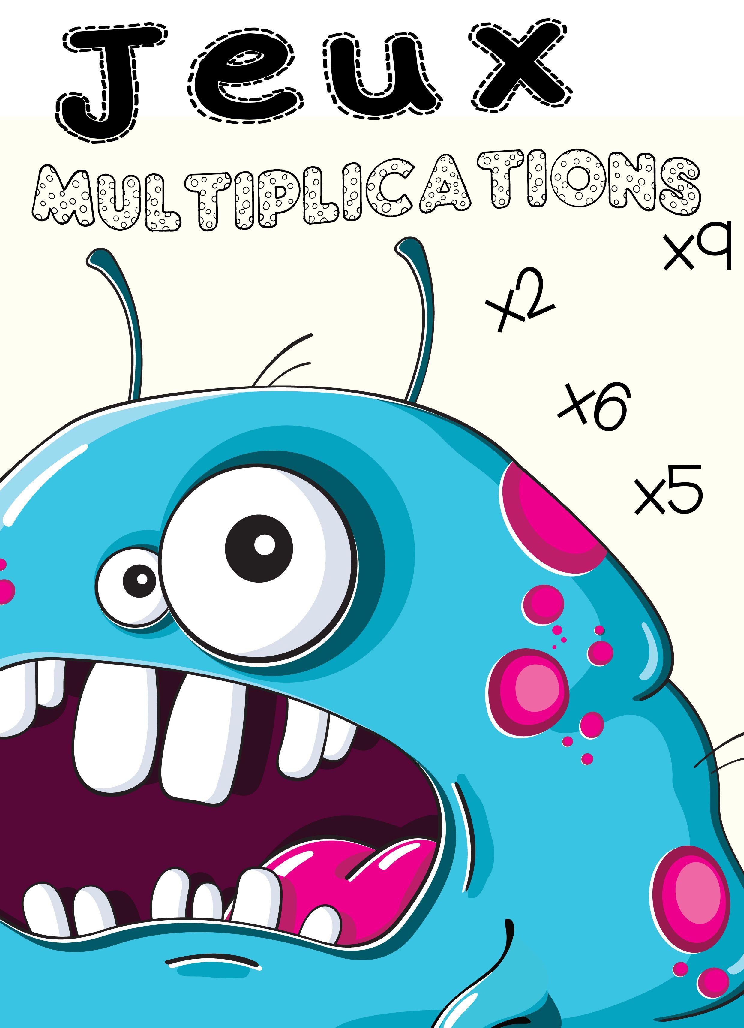 jeux tables de multiplication à imprimer et télécharger calculs et