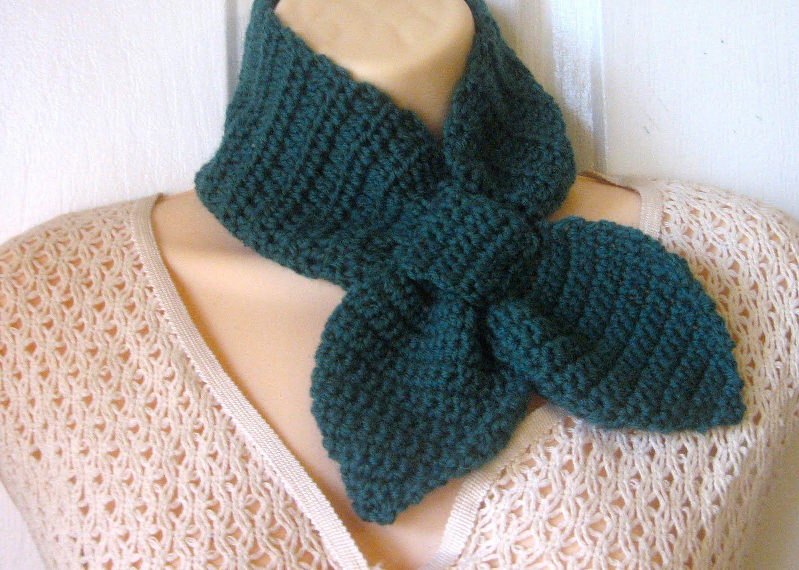 Crochet A Neck Scarf