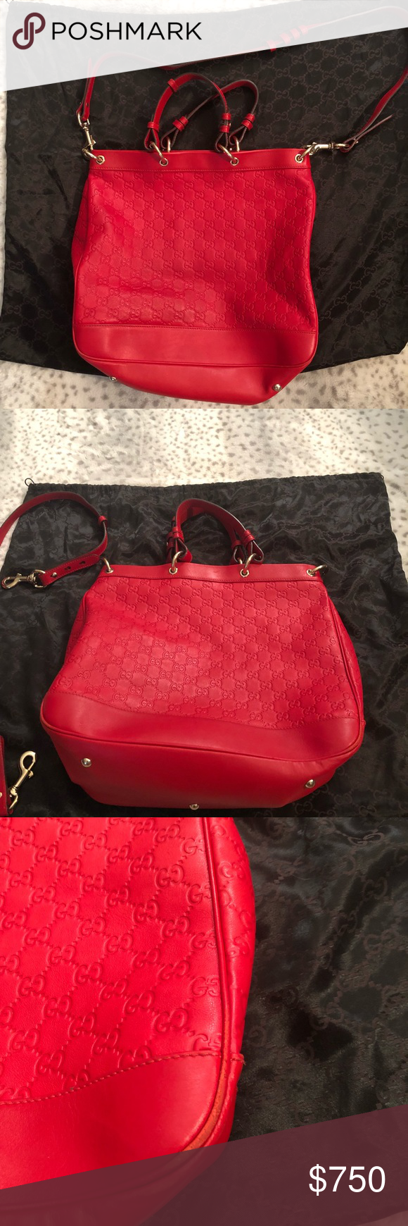 gucci valentine satchel red guccissima leather with gold hardware and  shoulder strap with gucci shoulder bags c 30 d742fa39f212b