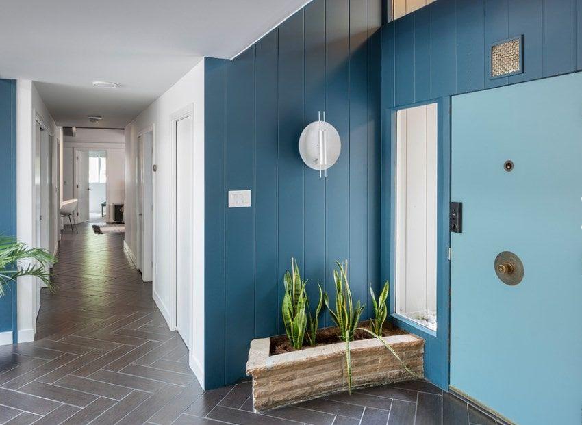 30 Mid Century Modern Foyer Ideas Photos Modern Foyer Mid Modern Decor Foyer Design