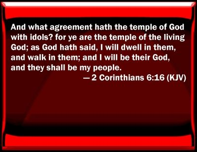 2 Corinthians 6 16 Kjv Corinthians 6 16 Bible Verse Slides 2