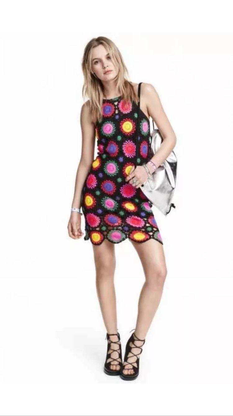 Hum coachella crochet dress bnwt size coachella size and